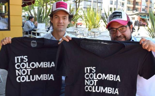 Colombia vs columbia